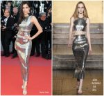 Praya Lundberg In Julien Macdonald  @ 'Girls Of The Sun (Les Filles Du Soleil)' Cannes Film Festival Premiere