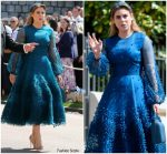Princess Beatrice In Roksanda @  Prince Harry & Meghan Markle's Royal Wedding