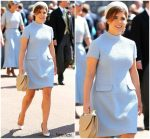 Princess Eugenie  In Gainsbourg   @  Prince Harry & Meghan Markle's Royal Wedding
