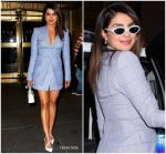 Priyanka Chopra  In  Dion Lee   @  Late Night with Seth Meyers