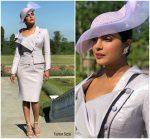Priyanka Chopra In Vivienne Westwood  @ Prince Harry & Meghan Markle's Royal Wedding