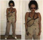 Rihanna In  Maison Margiela  &  Céline  – Instagram Pic