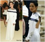 Ruth Negga  In Louis Vuitton @ 2018 Met Gala
