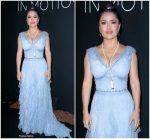 Salma Hayek Pinault In  Gucci @ Kering x Cannes Dinner