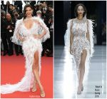 Sara Sampaio In Ralph and Russo @ 'Solo: A Star Wars Story' Cannes Film Festival Premiere