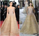 Sara Sampaio  In Zuhair Murad  Couture @  'Girls Of The Sun (Les Filles Du Soleil)' Cannes Film Festival Premiere
