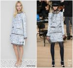 Sasha Luss  In Chanel  @ Vanity Fair X Chanel 2018 Cannes Film Festival Dinner