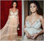 Selena Gomez In Coach @ 2018 Met Gala