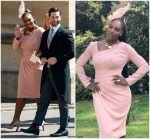 Serena Williams In Versace  @ Prince Harry & Meghan Markle's Royal Wedding