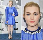 Skyler Samuels  In MSGM @ 2018 FOX Upfront Party