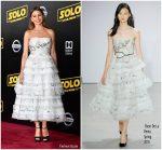 Sofia Vergara In Oscar de la Renta  @ 'SOLO: A Star Wars Story' LA Premiere