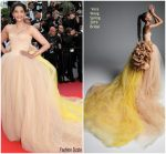 """Sonam Kapoor In Vera Wang  @ """"Solo : A Star Wars Story""""  Cannes Film Festival Premiere"""