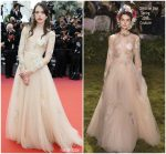 Stacy Martin  In Christin Dior Couture  @ Sink Or Swim (Le Grand Bain)' Cannes Film Festival Premiere
