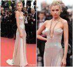 Stella Maxwell  In Roberto Cavalli   @ 'Sorry Angel (Plaire, Aimer Et Courir Vite)' Cannes Film Festival Premiere