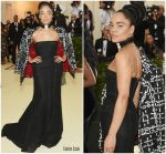 Tessa Thompson In Thom Browne  @ 2018 Met Gala