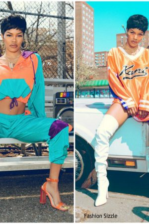 teyana-taylor-in-karl-kani-x-pretty-little-thing-collaboration