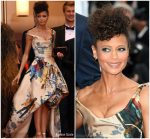 Thandie Newton  In Vivienne Westwood Couture @  'Solo: A Star Wars Story' Cannes Film Festival Premiere