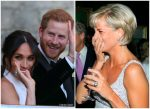 The Duchess of Sussex  Wears  Princess Diana Cocktail Ring for  Wedding  Reception
