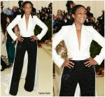 Tiffany Haddish  In Brandon Maxwell  @ 2018 Met Gala