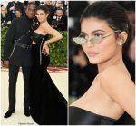 Travis Scott & Kylie Jenner  In Alexander Wang  @ 2018 Met Gala