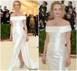 Uma Thurman In Gabriela Hearst  @ 2018 Met Gala