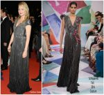 Virginie Efira  In Schiaparelli   Couture @ Sink Or Swim (Le Grand Bain)' Cannes Film Festival Premiere