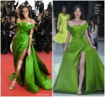 Winnie Harlow  In Ralph and Russo  Haute  Couture @ 'Blackkklansman' Cannes Film Festival Premiere