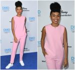 Yara Shahidi In Victoria, Victoria Beckham  @  Disney/ABC International Upfronts