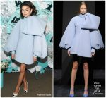 Zendaya Coleman In Dice Kayek Couture  @ Tiffany & Co. Paper Flowers Event And Believe In Dreams Campaign Launch