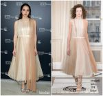 Zoe Kazan In Schiaparelli Haute Couture  @ 'Wildlife' Cannes Film Festival Screening