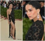 Zoë Kravitz  In Yves Saint Laurent  @ 2018  Met Gala