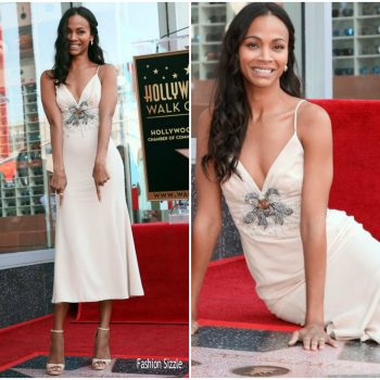 zoe-saldana-in-miu-miu-at–the-hollywood-walk-of-fame-unveiling