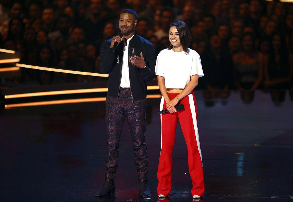 michael-b-jordan-and-mila-kunis-in-michael-kors-2018-mtv-movie-and-tv-awards