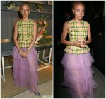 Adwoa Aboah In Burberry  @ Burberry x Adwoa Cocktail Party
