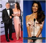 Amal Clooney In Prada  @ American Film Institute's 46th Life Achievement Award Gala Tribute to George Clooney