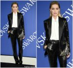 Amber Heard In Michael Kors @ 2018 CFDA Fashion Awards