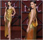 Bella Hadid In Versace  @ Bvlgari Dinner & Party