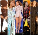 "Beyoncé  Knowles Outfits On Her "" On the Run II "" World Tour"