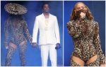 Beyonce Knowles In Mugler  @ 'On The Run II' Tour