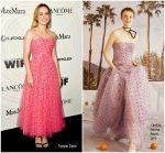 Brie Larson In Carolina Herrera @ Women In Film 2018 Crystal + Lucy Awards