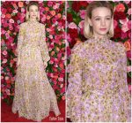 Carey Mulligan In Giambattista Valli  @  2018 Tony Awards