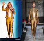 Celine Dion In Schiaparelli Haute Couture @ Celine Dion Live 2018