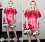 Dakota Fanning In Dolce & Gabbana  @ Roger Vivier '#Love Vivier' Book Launch