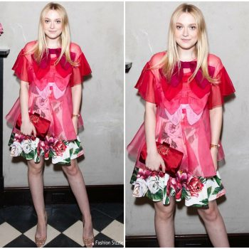 dakota-fanning-in-dolce-gabbana-roger-vivier-love-vivier-book-launch