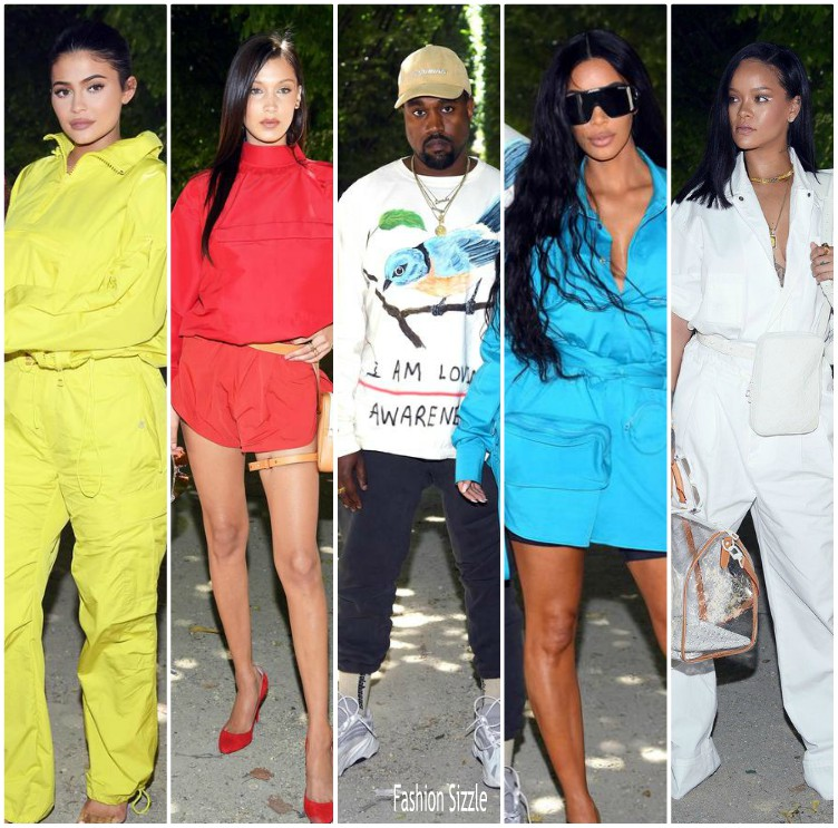 e2791427e016 Front Row   Virgil Abloh First Show For Louis Vuitton Menswear Spring 2019