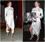 Gigi Hadid  In  Vivienne Westwood  @  Victoria Secrets' Book Launch
