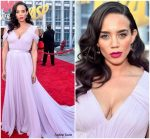 Hannah John-Kamen In Jason Wu  @ 'Ant-Man And The Wasp' LA Premiere