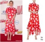 Judy Greer In Peter Pilotto  @ 'Ant-Man And The Wasp' LA Premiere