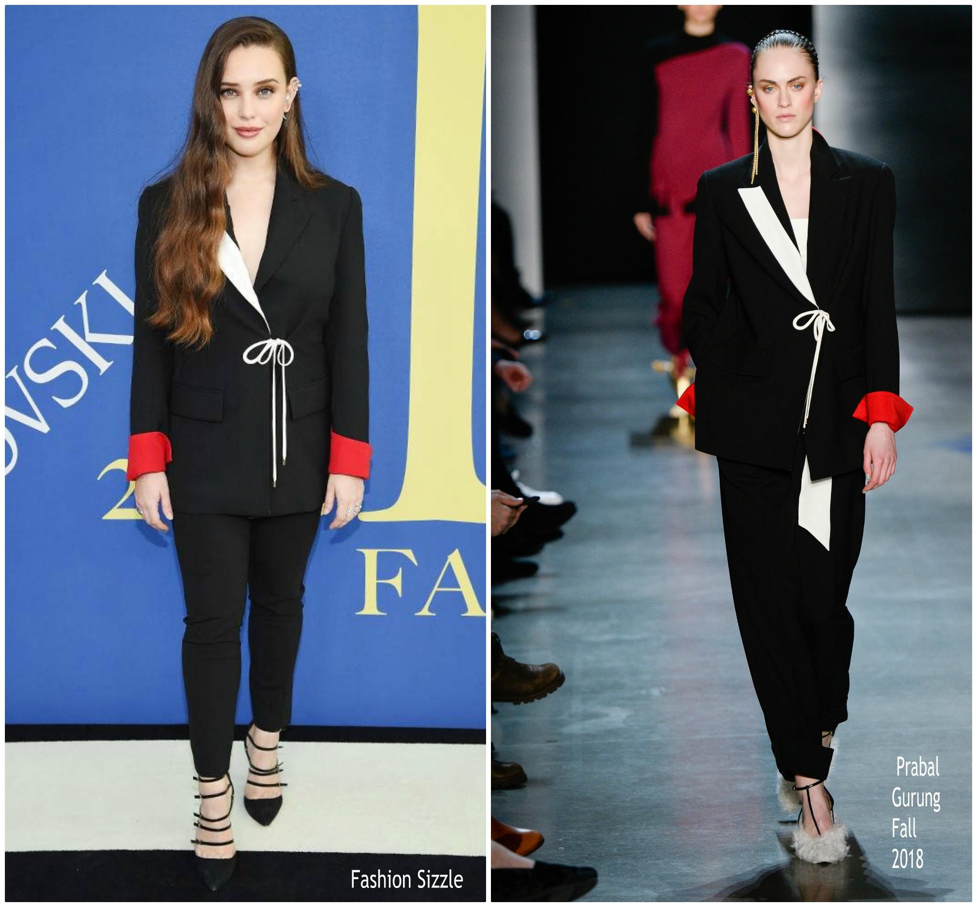 katherine-langford-in-prabal-gurung-2018-cfda-fashion-awards