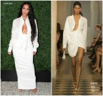 Kim Kardashian In Jacquemus & Rick Owens  @ BoF West Summit & KKW Beauty and Fragrance Pop-Up Opening